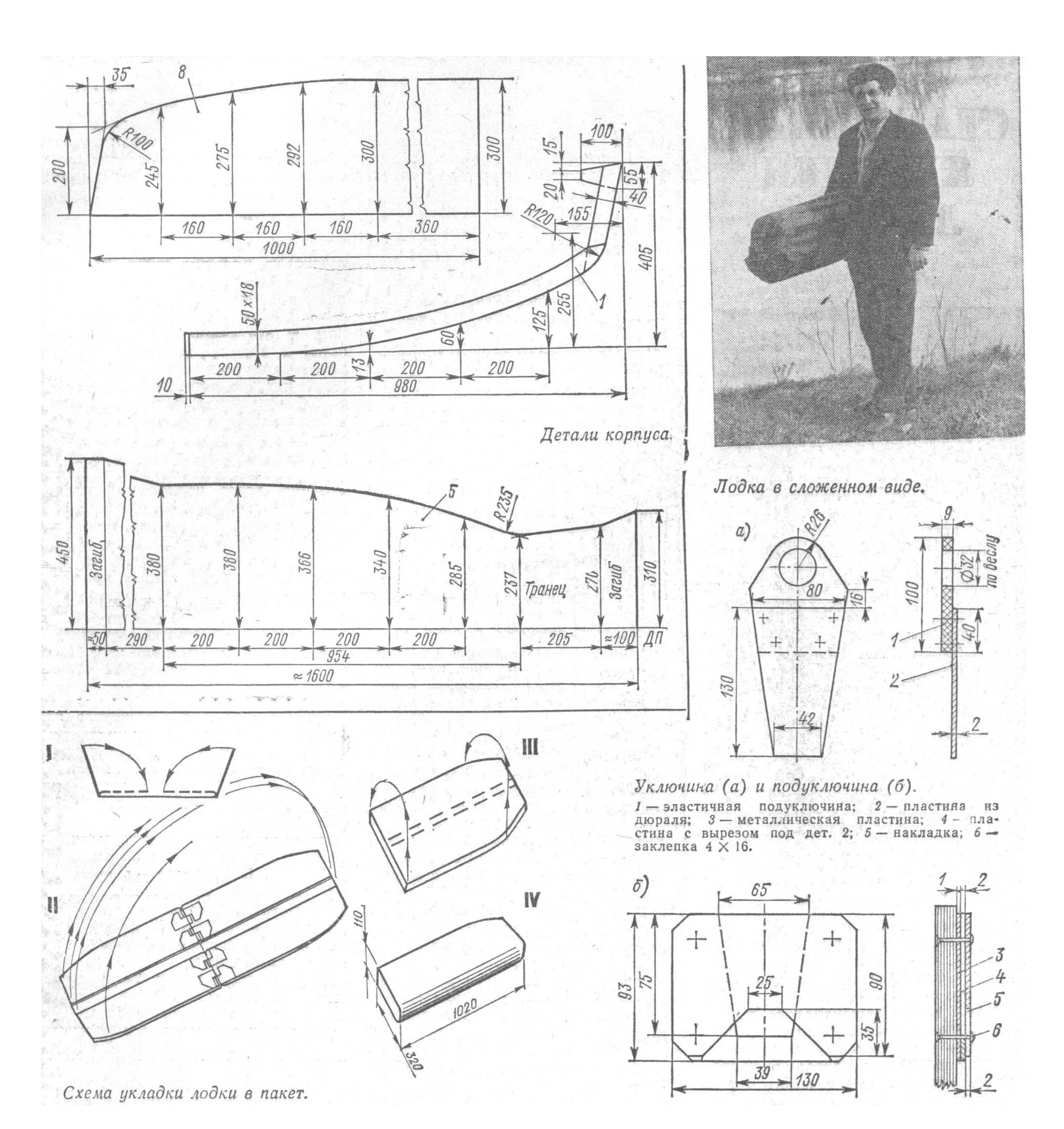 Лодка из фанеры своими руками: размеры и чертежи - Самоделки